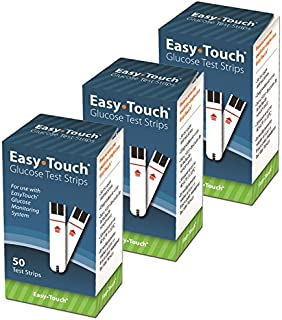 Easy Touch Eas-150 Easytouch Glucose Test Strip, 150 Count (Pack of 150)