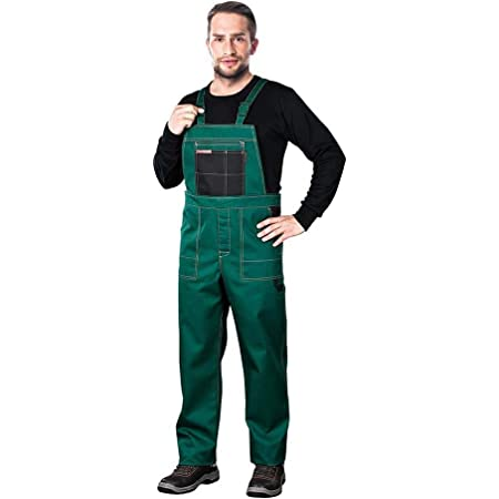Reis Mmszb_60 Multi Master Protective Bib-Pants, Green-Black, 60 Size