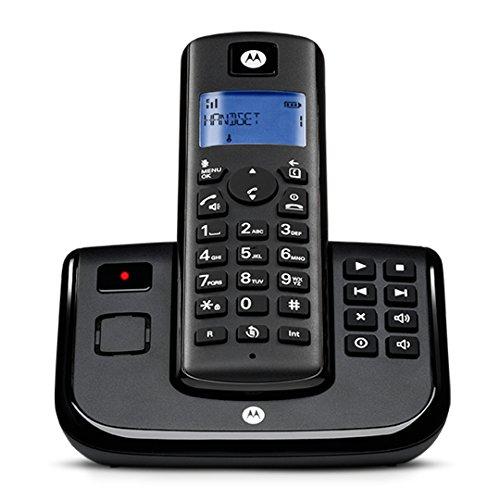Motorola T211B Schnurlostelefon schwarz