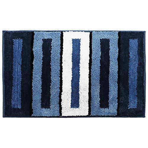 Carpet ZQE-LP Flocking Home Carpet Mat Wholesale Household Bathroom Bathtub Absorbent Mat Bathroom Mat, A, 18X26In
