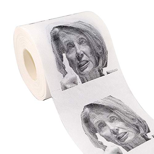 Nancy Pelosi Toilet Paper, Toilet Paper Funny Prank Toilet Roll Paper Toilet Papers (Nancy)