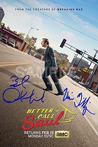 5 Star Prints Better Call Saul Póster Foto 12x 8Firmado PP Bob Odenkirk Vince Gilligan autógrafo impresión Coleccionable de Regalo