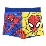 Costume da Bagno Boxer Mare Bambino Spiderman Marvel Avengers | Multicolor | 2-3-4-5-6 Anni (Blu Giallo, 6 Anni)
