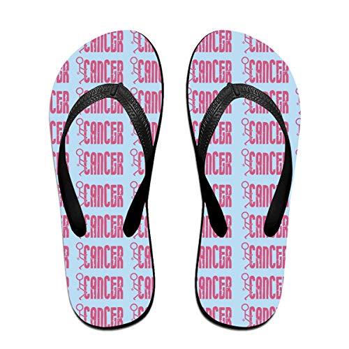Iop 90p Fick Krebs Flip Flops Hausschuhe Strand Sandalen Pool Schuhe