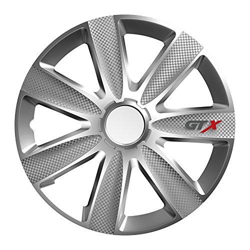 RAU Universal Radzierblende Radkappe Silber 16 Zoll für viele Fahrzeuge passend