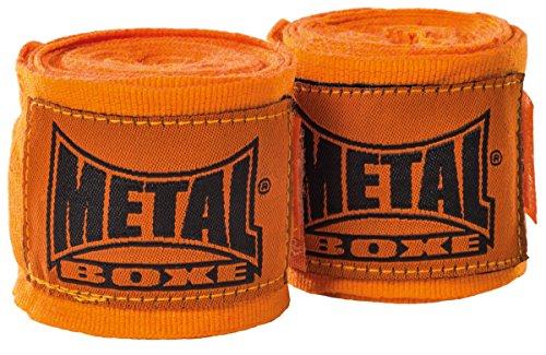Metal Boxes Boxes 4m Banda de Entrenamiento Mixta, Color Naranja, tamaño 4m
