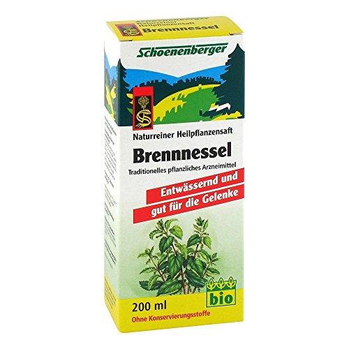 Schoenenberger Brennnessel naturreiner Heilpflanzensaft, 200 ml Lösung