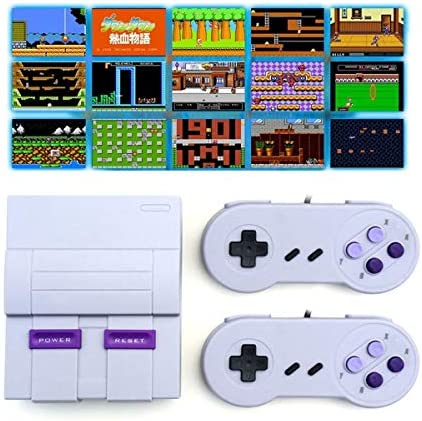 Oriflame Classic Game Console Built in 660 Game in TF Card with 2 Joysticks Video Game Console product image