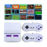 Oriflame Classic Game Console Built-in 660 Game in TF Card, with 2 Joysticks, Video Game Console, Handheld Game Player Console for Family TV HDMI HD Plug & Play (Gray)