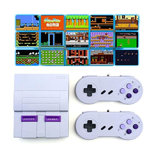 Oriflame Classic Game Console Built-in 660 Game in TF Card, with 2 Joysticks, Video Game Console,...