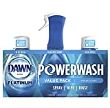 Dawn Powerwash Starter Kits, Dish Spray, Dish Detergent, Fresh Scent Bundle, Spray Bottle, 2...