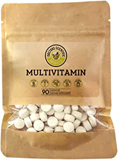 DSO Multivitamin A 5,000IU, C, D3, B12 Daily Multi Vitamin for Healthy Muscle Function, Immune Support & Bone Health Daily...