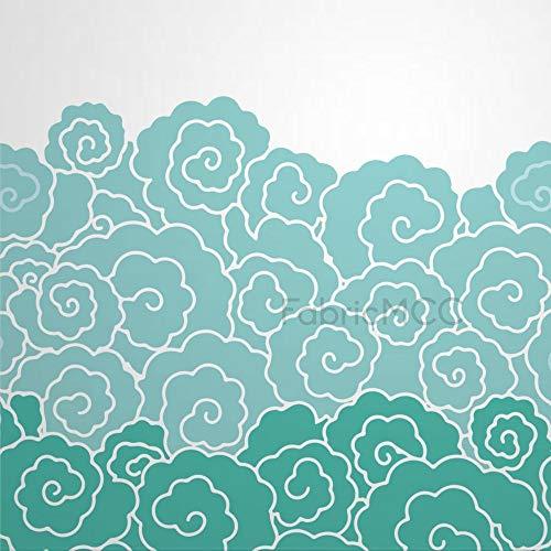 daoyiqi Juego de adhesivos decorativos para azulejos, 30,5 x 30,5 cm, vinilo impermeable para azulejos de pared, 12 unidades