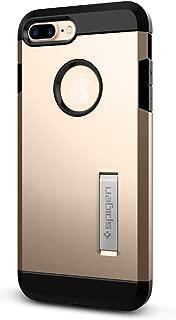 Spigen Tough Armor Designed for Apple iPhone 7 Plus Case (2016) / Designed for iPhone 8 Plus Case (2017) - Champagne Gold