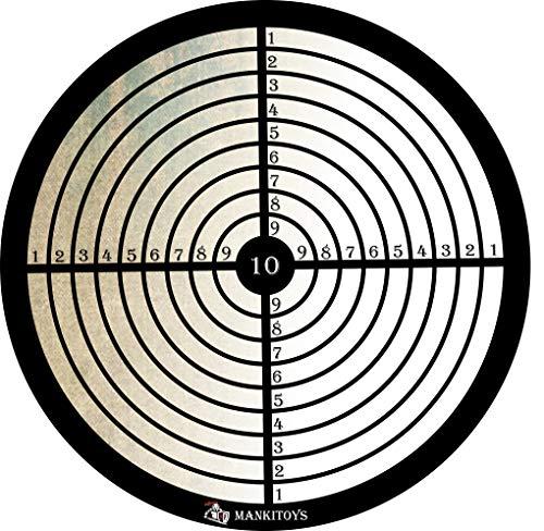 MankiToys Zielscheibe für Saugnapf Pfeile Kinder 8001