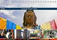 Malaysia - Land der Farbenvielfalt (Tischkalender 2022 DIN A5 quer): Eindrucksvolle und farbenfrohe Eindruecke eines besonderen asiatischen Landes. (Monatskalender, 14 Seiten )