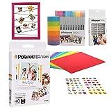 Polaroid de 3.5 x 4.25 pulgadas Premium ZINK Papel fotográfico Kit de libro de recuerdos