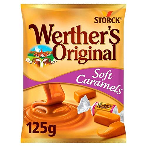 Storck Werthers Original Soft Cream Toffee Bonbons - 1 x 125 Gramm