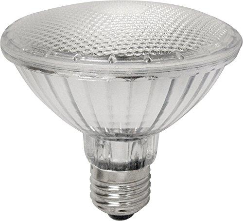 Laes Lampadina PAR 30 LED E27, 10 W, Grigio, 95 x 94 mm, alluminio