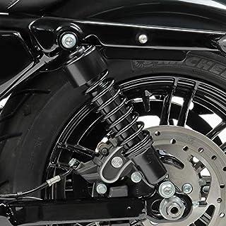 Viviance ZHVICKY Ghette per Copri Forcella da 39 mm Gators Stivali in Gomma per Harley Sportster Dyna FX XL 883