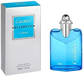Cartier Declaration L'Eau Eau de Toilette Spray, 50Ml, 1.6 Ounce