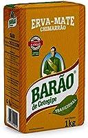 Erva Mate Barão Tradicional original 1 kg Chimarrão