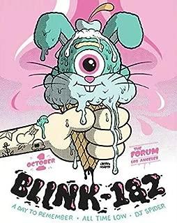 Best blink 182 concert posters Reviews