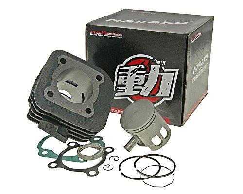NARAKU 70ccm / 10mm Zylinder Kit für Aprilia SR50 WWW, Scarabeo, Sonic 50 AC