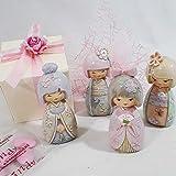 Bomboniere per Nascita Battesimo Comunione cresima Bimba BAMBOLINE Bambole Giapponesi Cinesi assortite