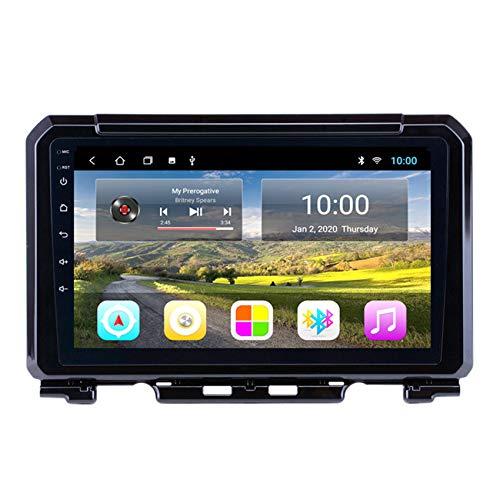 DMMASH per Suzuki JIMNY 2019 Android 8.1 Autoradio Car Stereo 2 DIN 9' GPS Navigation/WiFi/Controllo del Volante/Mirrorlink/Radio FM/Telecamera Posteriore,8 cores 4g+WiFi:2+32g