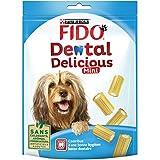 Fido Dental Delicious Mini – Alimentos hueso para masticar para perro 130 g – Pack de 6