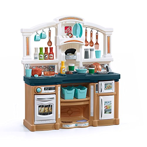 Step2 Fun with Friends Kitchen Playset, Tan/Blue