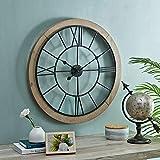 FirsTime & Co. Brown Timeworn Farmhouse Cottage Clock,...