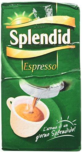 Splendid - Caffè Macinato Gusto Espresso - Miscela per Macchina Caffè Espresso - 12 Confezioni - Pacco da 500 gr