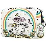 Neceseres De Viaje Flores De Setas Portable Make Up Bags Neceser De Práctico Bolsa De Lavado De Baño Viajes Vacaciones Fiesta Elementos Esenciales 18.5x7.5x13cm