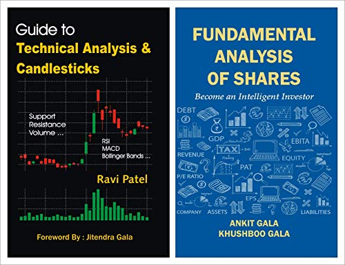 COMBO : Guide to Technical Analysis & Candlesticks + Fundamental Analysis of Shares