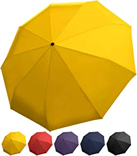Rain Guard Windproof Umbrella, Compact Auto Open/Close, DuPont Teflon-coated & Lightweight