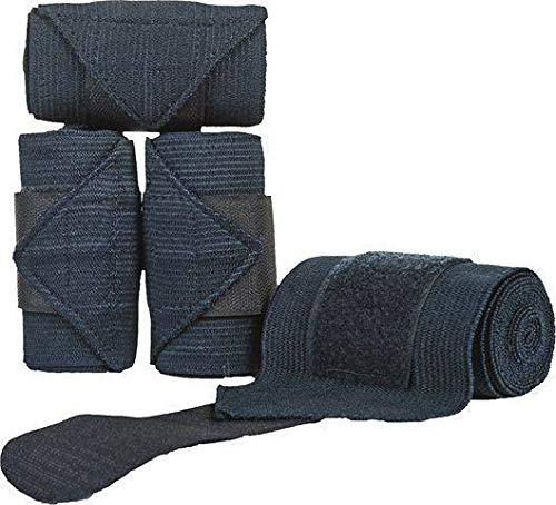 HKM Elastic Bandagen, dunkelblau, 180 cm