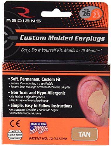 Radians Ohrstöpsel-Schutz für die Ohren, Unisex, Canela