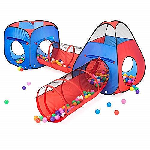 Kiddzery 4pc Kids Play tent...