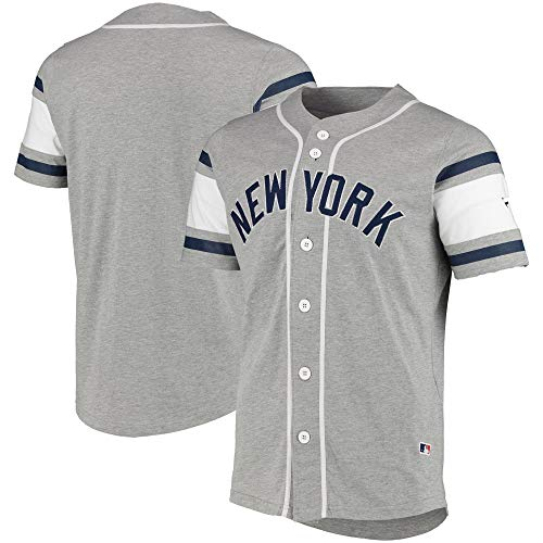 Fanatics New York Yankees MLB Cotton Supporters Jersey - L