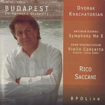 Dvořák - Symphony No 8 & Khachaturian - Violin Concerto