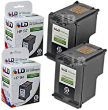 LD Remanufactured Ink Cartridge Replacement for HP 94 C8765WN (Black, 2-Pack)