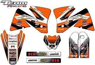 Team Racing Graphics kit compatible with KTM 2001-2002 EXC, ANALOG Base kit