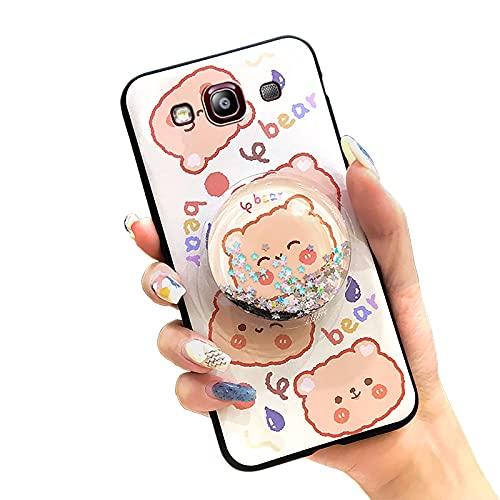 Lulumi - Cover impermeabile per Samsung Galaxy S3/I9300, con supporto per paraurti per giocattoli, in silicone morbido, per ragazze, colore: Arancione