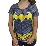Batman Cape Shirt Batman Cosplay DC Batman Tshirt - Batman Cape Tee Batman Shirt-Large