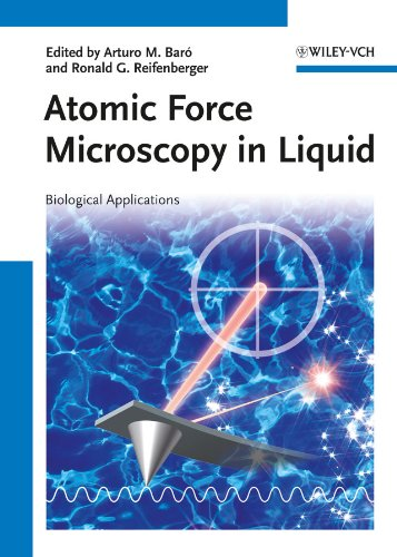 Atomic Force Microscopy in Liquid: Biological Applications (English Edition)