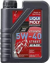 Liqui Moly 20074 Motorbike 4T Synthetic 5W-40 Race Engine Oil - 1 Liter