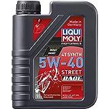 Liqui Moly 2592 - Aceite de motor, 4T Synth, 5W-40 Street Race, Booklet, 1 l