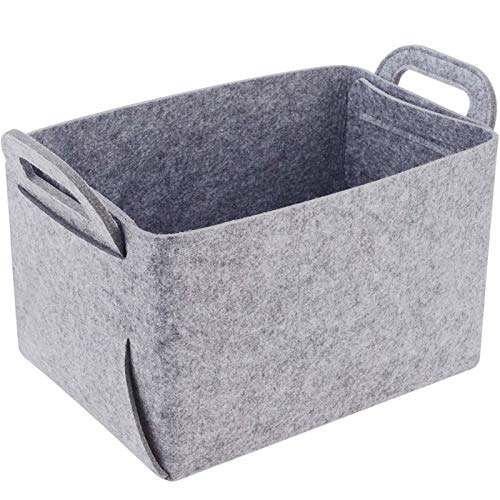 Lavandería El fieltro de tela plegable cesta del almacenaje del hogar ropa sucia caja de almacenamiento Inicio de Escritorio misceláneas del organizador niños de juguete cesta de lavadero Closet y sal